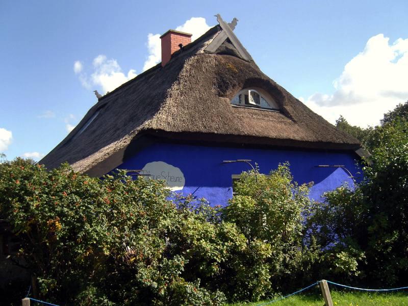 Die Blaue Scheune in Vitte auf Hiddensee