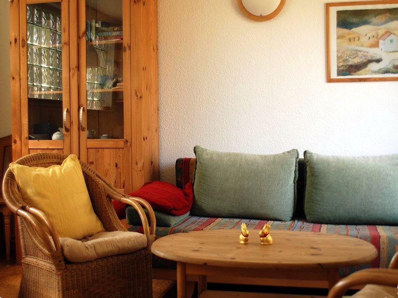 Sitzgruppe in der Ferienwohnung 2 - Landhaus Dittmann auf Hiddensee