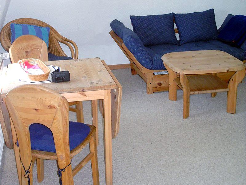 Essecke der Ferienwohnung 4 - Landhaus Dittmann auf Hiddensee