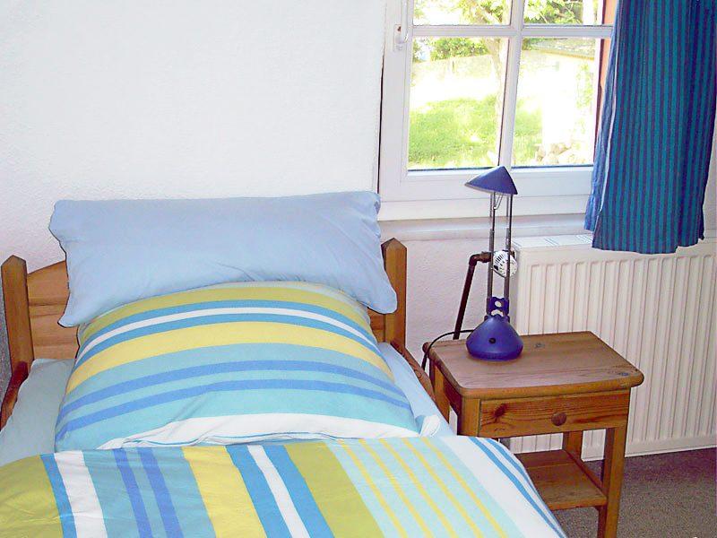 Schlafzimmer der Ferienwohnung 4 - Landhaus Dittmann auf Hiddensee