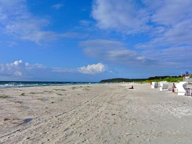 Am Strand von Vitte auf Hiddensee
